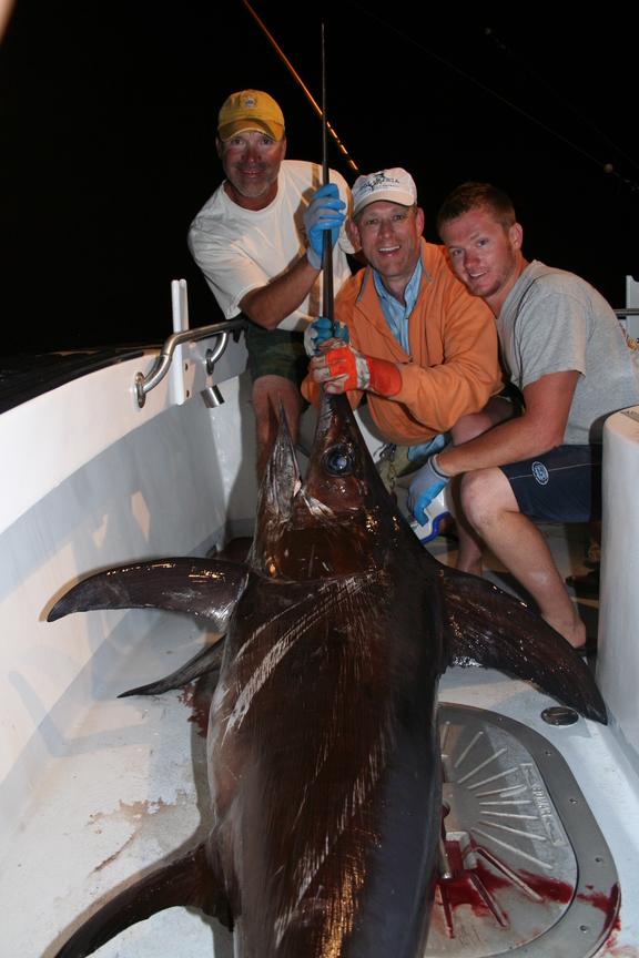 200Lb ++ Swordfish Caught in Destin