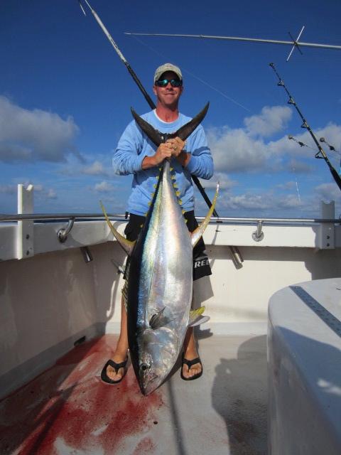 Destin Deep Sea Fishing Charter - 150 lb Yellow Fin Tuna