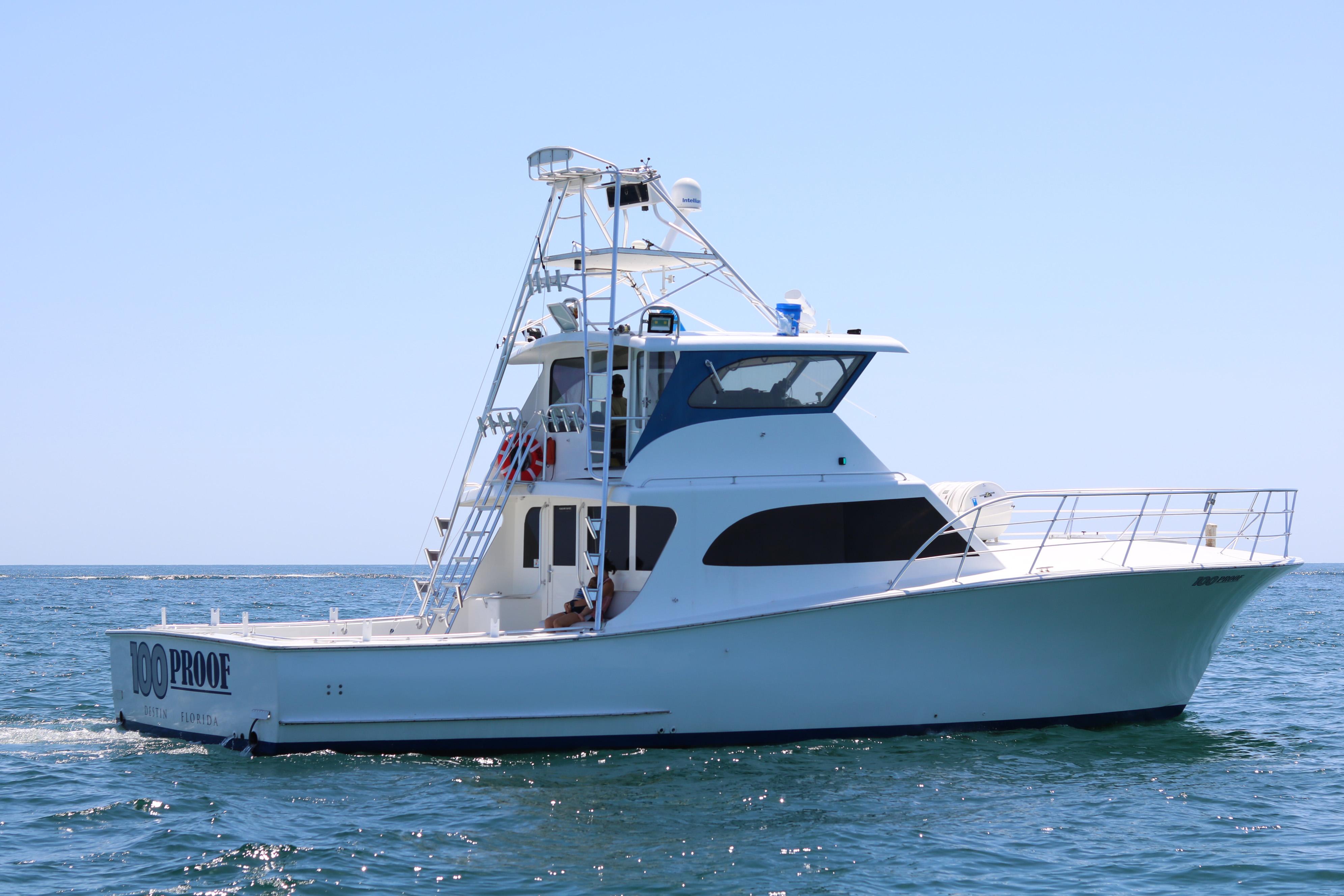 Best fishing boat in Destin, FL