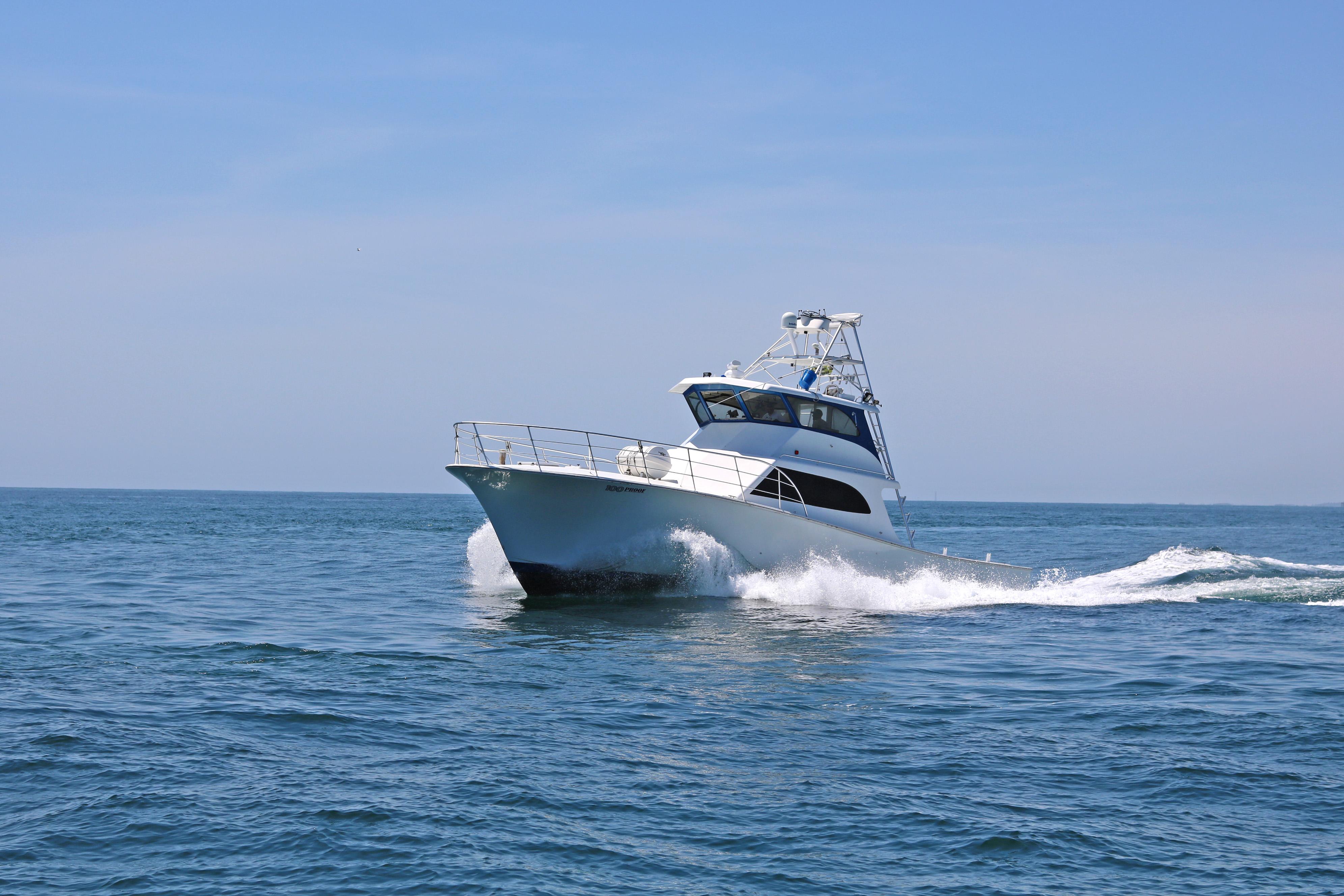 22 passenger charter boat