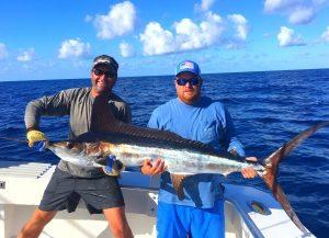 White Marlin caught in Destin, FL