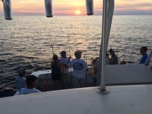 Bait Fishing at sunrise
